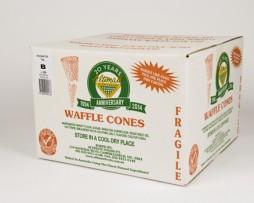 flat top waffle cones