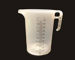 gelato preparation measuring jug