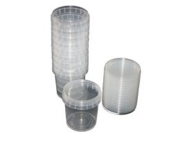 Clear Plastic Tubs
